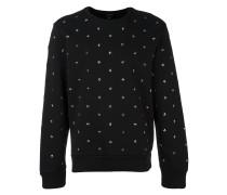 Sweatshirt mit sternförmigen Nieten