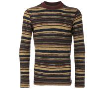 striped round neck jumper