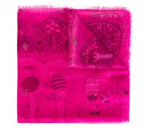 - Schal mit Print - women - Modal/Kaschmir