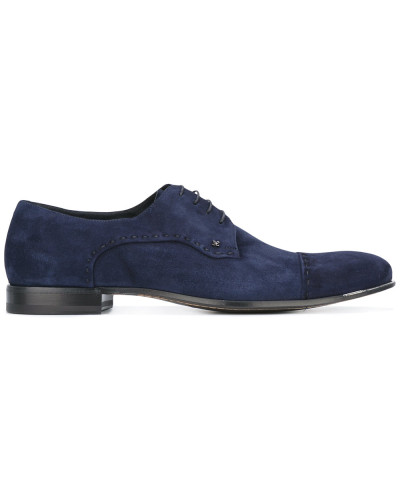 Derby-Schuhe mit Ziernaht