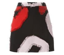Minirock mit ausgefransten Patches - women