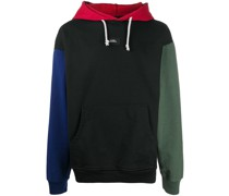 Kapuzenpullover in Colour-Block-Optik
