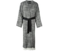 'Iban' tweed coat