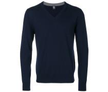 Pullover mit V-Ausschnitt