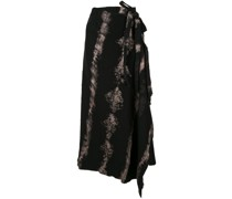 Asymmetrischer Batikrock