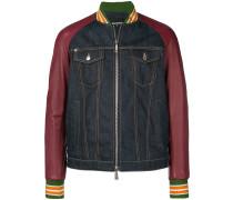denim bomber jacket