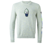 Pullover mit Eis-Patch