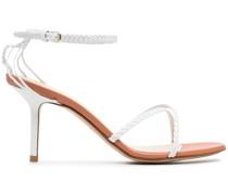 Sandalen mit Seildetails, 75mm