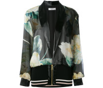 printed bomber jacket - women