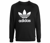 Sweatshirt mit Trefoil-Print