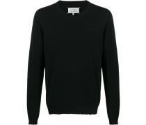 Pullover mit unbearbeitetem Saum