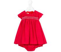 Kleid mit aufgestickten Rosen - kids