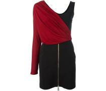 Asymmetrisches Kleid im Lagen-Look