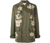Floraler Military-Mantel - women