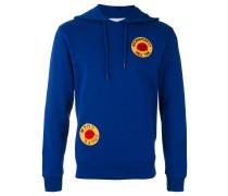 'Smiling Sun' Sweatshirt mit Kapuze