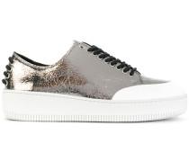 'Netil' Sneakers mit Ösenverzierung