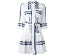 Hemdkleid mit Streifen - women - Baumwolle - 10