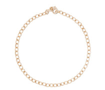 14kt 'Flinstone' Goldarmband mit Diamanten