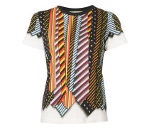 T-Shirt in Krawatten-Optik - women