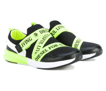 - Sneakers mit Logo-Riemen - kids