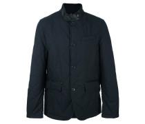 band collar padded jacket
