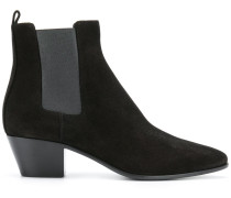 Chelsea-Boots mit Blockabsatz
