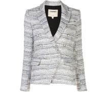 Doppelreihiger Tweed-Blazer