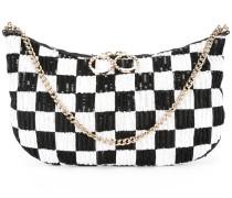 Clutch mit Pailletten - women - PVC/Leder