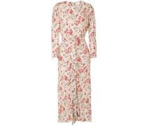'Zoe' Kleid mit Blumen-Print