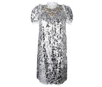Kleid mit Paillettenverzierung