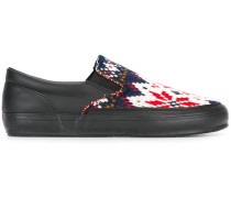Intarsien-Slip-On-Sneakers - men