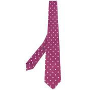 polka dot pattern tie - men