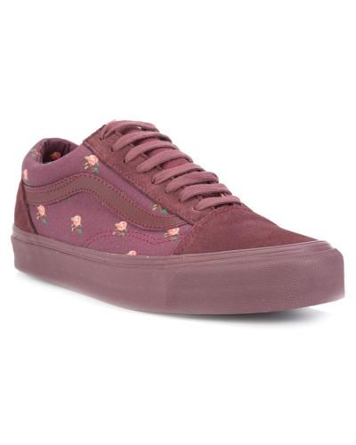 Sneakers mit Blumenmuster