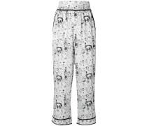 Gordon cropped trousers
