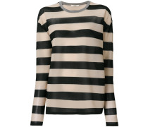 longsleeved striped jumper