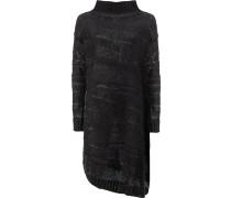 Oversized-Pullover mit weitem Stehkragen