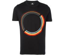 T-Shirt mit Kreis-Print