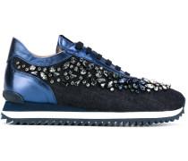 Sneakers mit Kristallverzierung - women