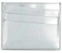 Kartenetui im Metallic-Look