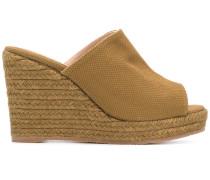 woven platform wedge sandals