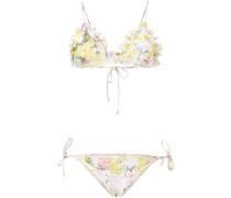 Bikini mit floralem Print - women