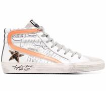 Slide High-Top-Sneakers