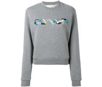 Sweatshirt mit Logo - women - Baumwolle - L