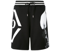 Okami track shorts - men - Baumwolle - M