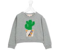 Sweatshirt mit Kaktusmotiv