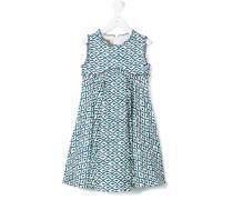 Ausgestelltes Kleid mit Print - kids