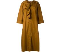 - Hemdkleid mit Rüschen - women - Baumwolle - 44