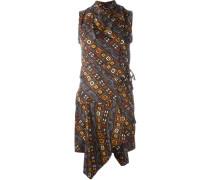 'Tabby' Wickelkleid aus Seide
