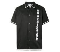 A BATHING APE® Hemd mit Logo-Stickerei
