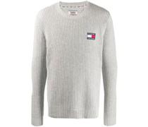 Pullover mit Flaggen-Patch